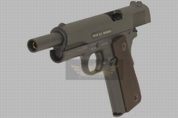 Todo sobre full airsoft airsoft pistola colt 1911 clasica gbb full metal