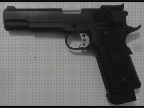 Review de full airsoft airsoft pistola colt 1911 clasica gbb full metal
