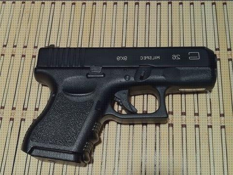 Opiniones de glock airsoft airsoft pistola glock 26 gbb full metal