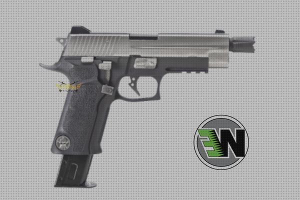 Review de blowback airsoft airsoft pistola p226 gas blowback we full metal