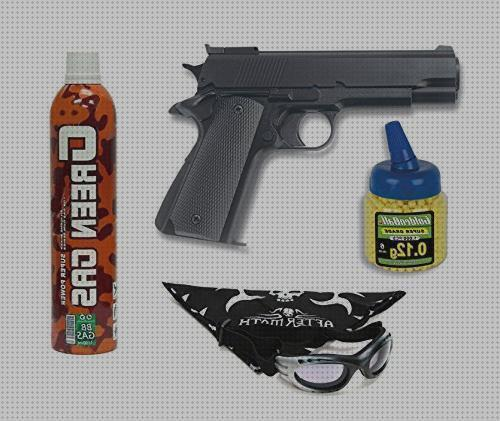Review de pack pistola airsoft hfc g16 gas