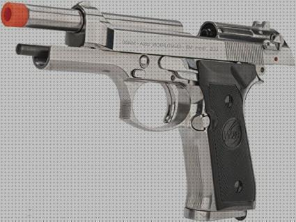 Review de pistola airsoft beretta m9 gbb co2 full metal