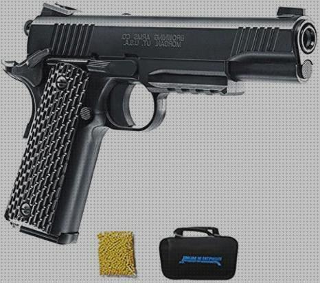 Las mejores marcas de 1911 airsoft pistola airsoft browning 1911 cal 6mm