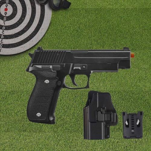 Todo sobre full airsoft pistola airsoft calibre 6 0mm g26 spring full metal