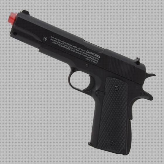 Todo sobre full airsoft pistola airsoft colt 1911 full metal apgfm311