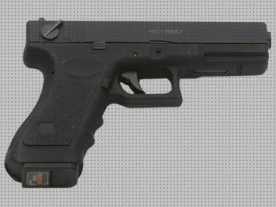Review de glock airsoft pistola airsoft cyma glock g18c cm030