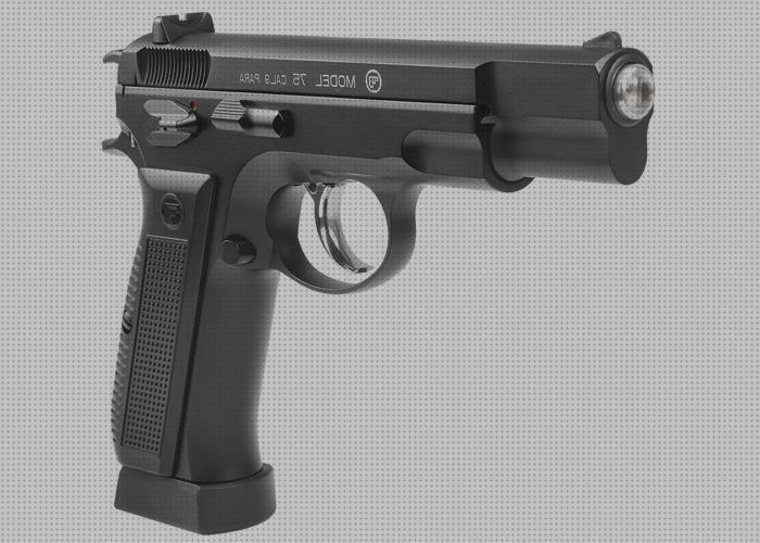 Review de pistola airsoft de metal asg