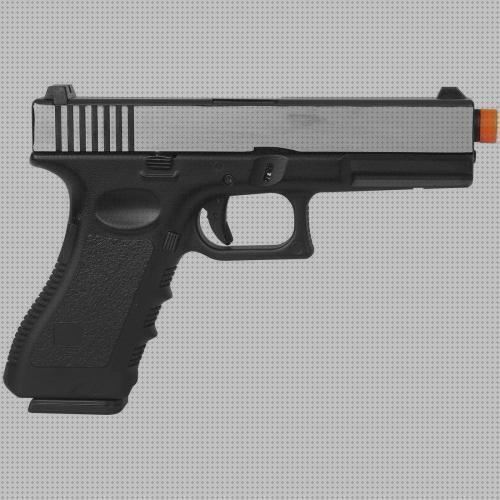 Review de glock airsoft pistola airsoft gbb green gas glock r17 army armament