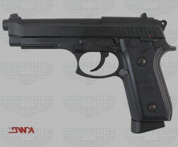 Review de co2 airsoft pistola airsoft kwc pt92 co2 blowback full metal