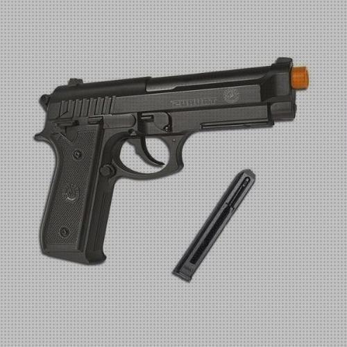 Todo sobre co2 airsoft pistola airsoft taurus pt92 co2 full metal 6mm slide fixo