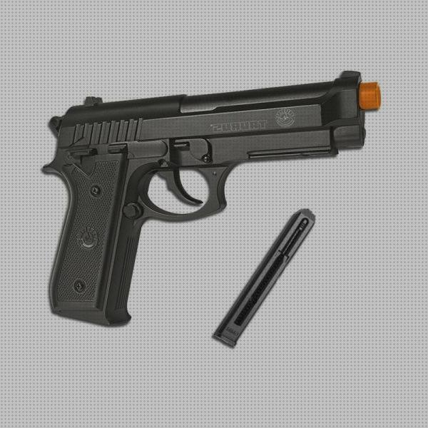 Review de co2 airsoft pistola airsoft taurus pt92 co2 full metal 6mm slide fixo