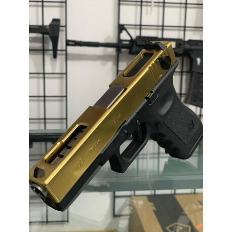 Opiniones de glock airsoft pistola airsoft we glock 18c slide metal gbb full auto