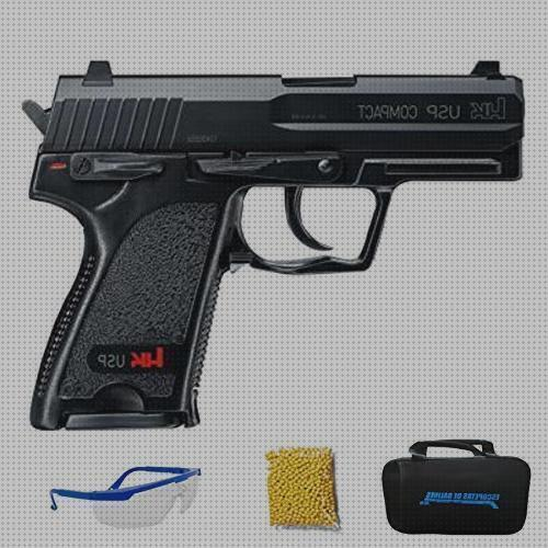 Review de pistola co2 bolas plastica