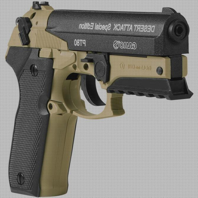 Review de pistolas co2 pistola gamo pt 80 desert attack special edition co2