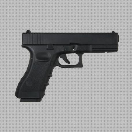 Todo sobre co2 pistola glock 17 gas co2 metalica kp 17 negra