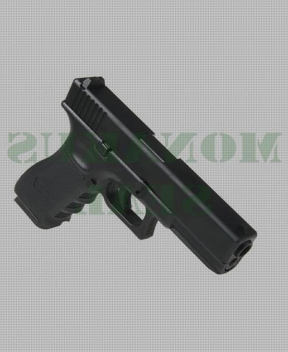 Review de co2 pistola glock 17 gas co2 metalica kp 17 negra