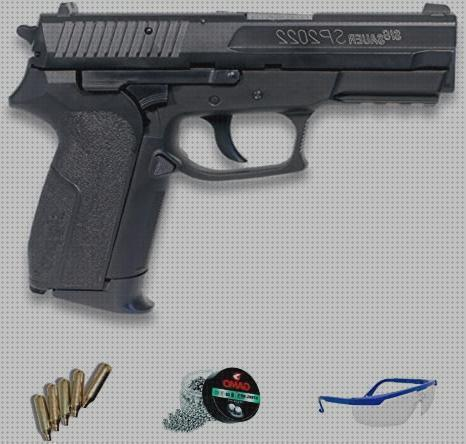Opiniones de co2 pistola sig sauer sp2022 gas co2 calibre 4 5