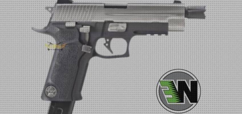 TOP 7 Airsoft Pistola P226 Gas Blowback We Full Metal