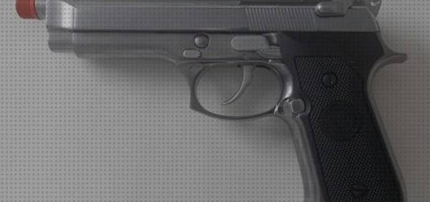 7 Mejores Airsoft Pistola We M92 Cromada Full Metal Gas Blowback