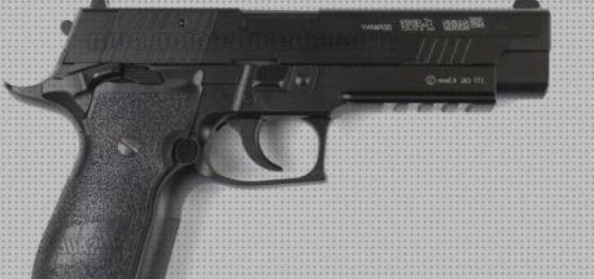 Análisis de 6 Pistola Airsoft Sig Sauer Co2 Blowback