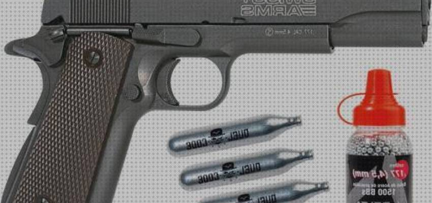 TOP 6 Pistola Balines 1911 Blowback Swiss Arms